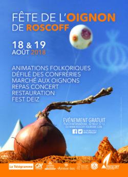 Affiche Oignon de Roscoff AOP