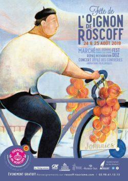 affiche fete oignon Roscoff AOP 2019
